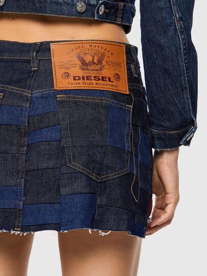 Diesel - DE-JEYJEY, Bleu moyen - Jupes - Image 3