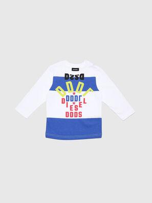 TOLIB-R, Blanc/Bleu - T-shirts et Hauts