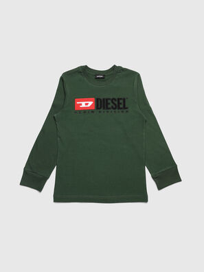 TJUSTDIVISION ML, Vert Foncé - T-shirts et Hauts