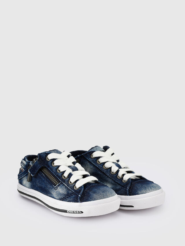 Diesel - SN LOW 25 DENIM EXPO, Jean Bleu - Footwear - Image 2