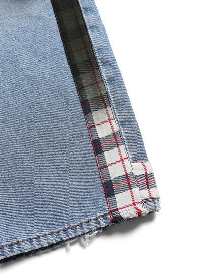 Diesel - D-DEEPCHECKDENIM, Bleu Clair - Pantalons - Image 7