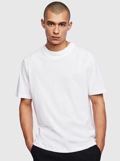 Diesel - T-HUSTY, Blanc - T-Shirts - Image 1