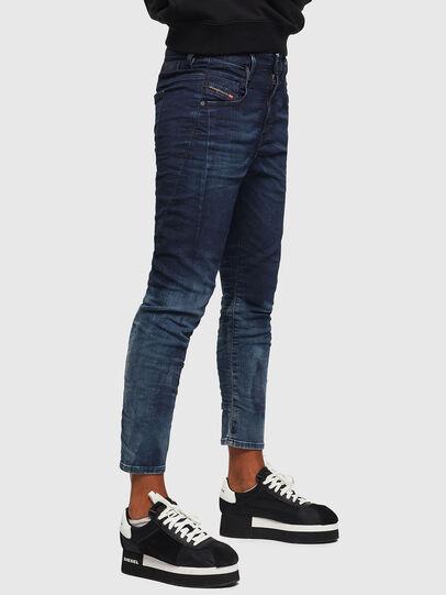 Diesel - Fayza JoggJeans 069KC, Bleu Foncé - Jeans - Image 5
