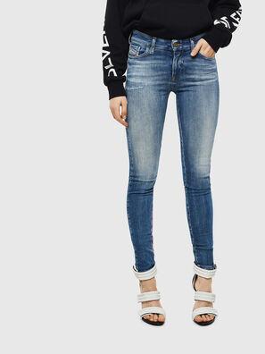 Slandy 009CJ, Bleu moyen - Jeans