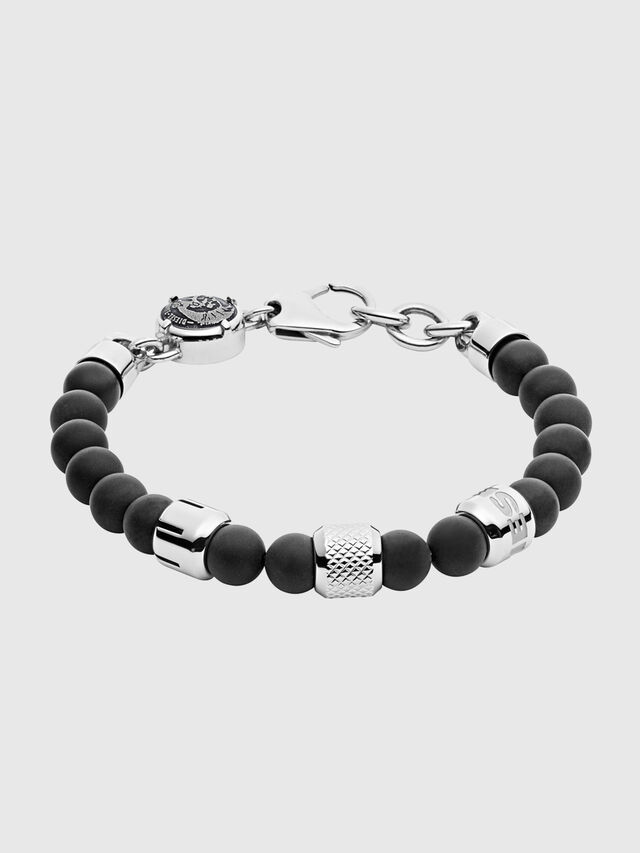 Diesel BRACELET DX1023, Noir - Bracelets - Image 1