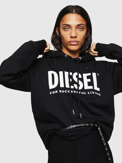 Diesel - F-GIR-HOOD-DIV-LOGO-,  - Pull Cotton - Image 3