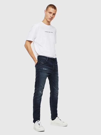 Diesel - Krooley JoggJeans 069KB, Bleu Foncé - Jeans - Image 6
