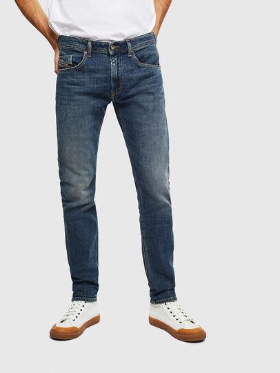 Diesel - Thommer 0095M, Bleu Foncé - Jeans - Image 1