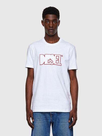Diesel - T-DIEGOS-B8, Rouge/Blanc - T-Shirts - Image 1