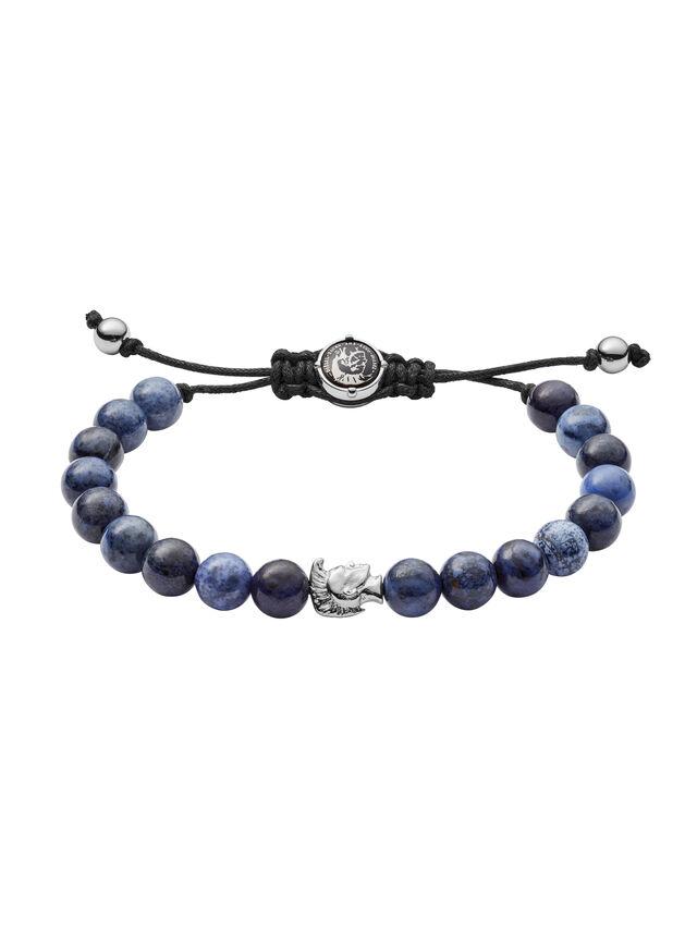 Diesel - BRACELET DX1068, Bleu - Bracelets - Image 1