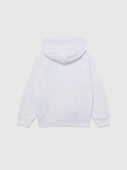 Diesel - SGIRKHOODCUTY OVER, Blanc - Pull Cotton - Image 2