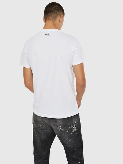 Diesel - T-DIEGO-B10, Blanc - T-Shirts - Image 2