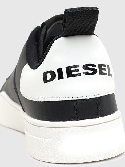 Diesel - S-CLEVER SO, Noir/Blanc - Baskets - Image 5
