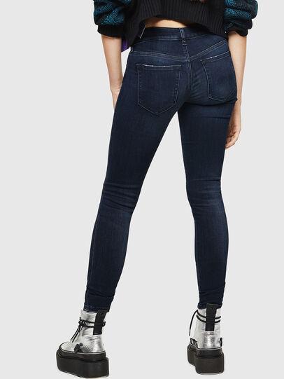 Diesel - Slandy Low 0870C, Bleu Foncé - Jeans - Image 2