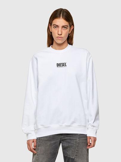 Diesel - F-ANG-SMALLOGO, Blanc - Pull Cotton - Image 1