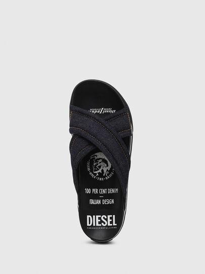 Diesel - SA-GRAND X, Jean Bleu - Sandales - Image 5