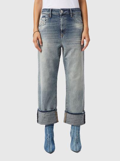 Diesel - D-Reggy 09B11, Bleu Clair - Jeans - Image 1