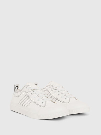 Diesel - S-ASTICO LOW LACE, Blanc - Baskets - Image 2