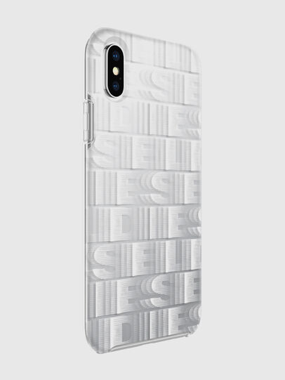 Diesel - DIESEL PRINTED CO-MOLD CASE FOR IPHONE XS & IPHONE X, Blanc - Coques - Image 6