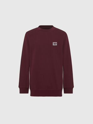 UMLT-WILLY, Bordeaux - Pull Cotton