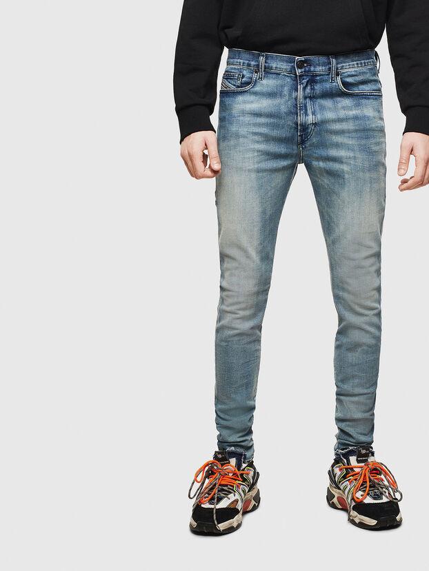 D-Amny 069LH, Bleu moyen - Jeans