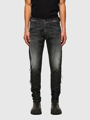 D-Strukt 009HY, Noir/Gris foncé - Jeans
