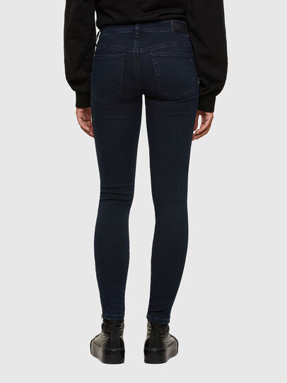 Diesel - Slandy Low 009PV, Bleu Foncé - Jeans - Image 2