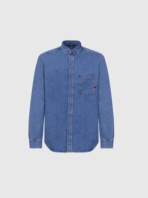 D-BILLY, Bleu Clair - Chemises en Denim