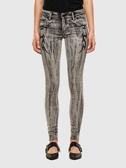 Diesel - Slandy 069NH, Gris Clair - Jeans - Image 1