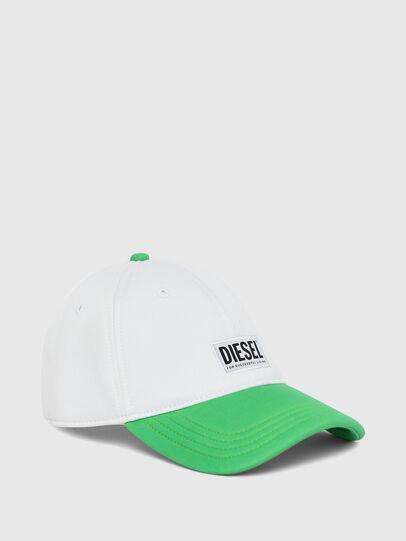 Diesel - DURBO, Blanc/Vert - Chapeaux - Image 1