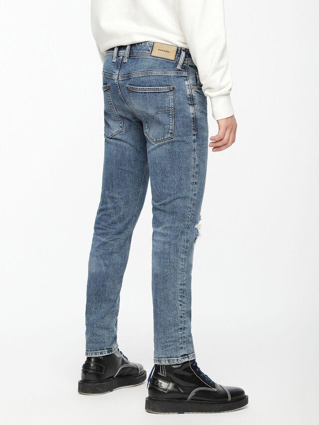 Diesel - Sleenker 069AI, Bleu moyen - Jeans - Image 2
