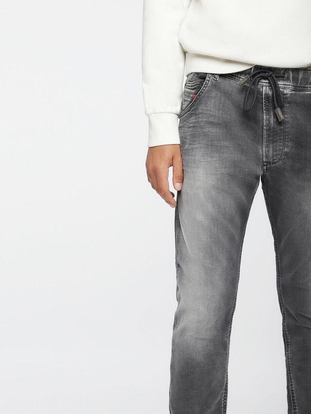 Diesel - Krooley JoggJeans 0855B, Gris Clair - Jeans - Image 3