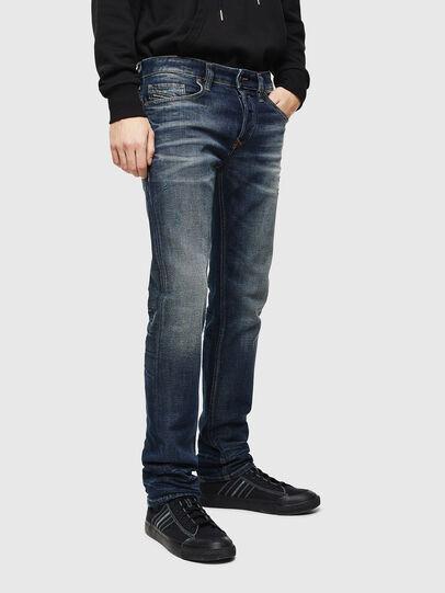 Diesel - Safado 0096U, Bleu Foncé - Jeans - Image 1