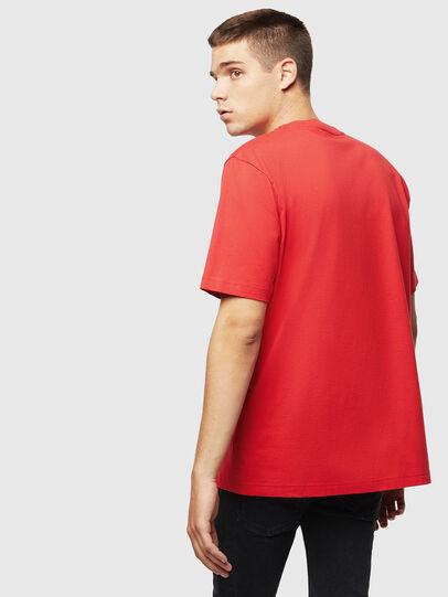 Diesel - T-JUST-J5, Rouge - T-Shirts - Image 2