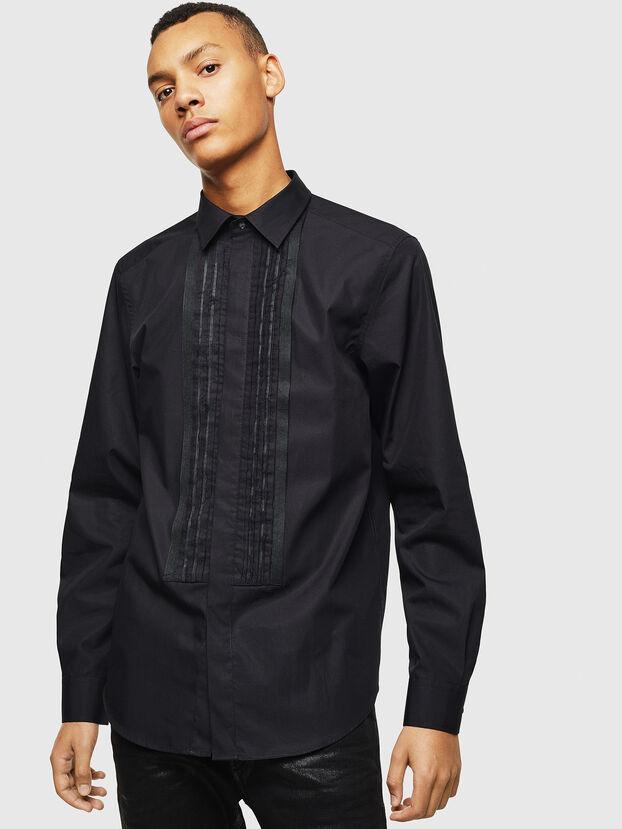 S-PLIS, Noir - Chemises