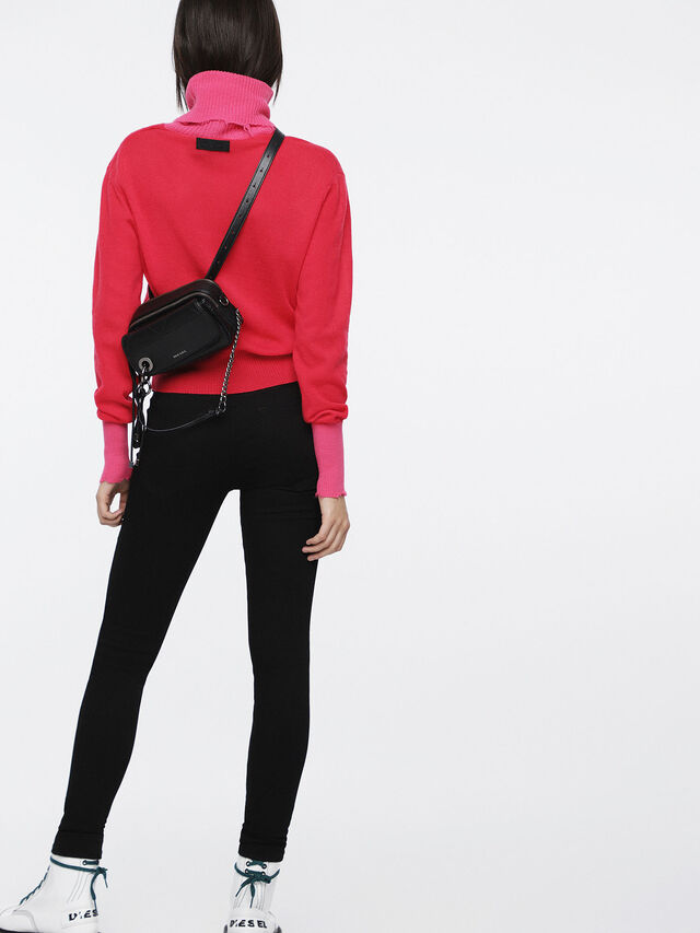 Diesel - M-HACNY, Fuchsia - Pull Maille - Image 3