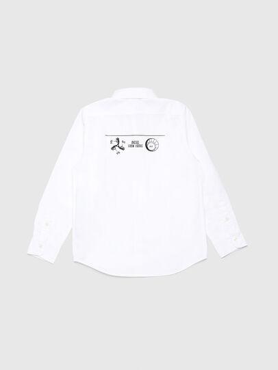 Diesel - CSVENPRINT, Blanc - Chemises - Image 2