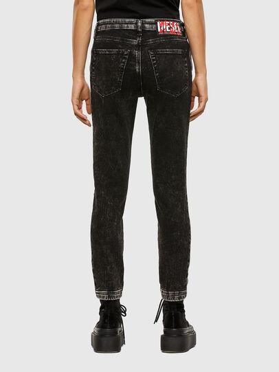 Diesel - Babhila 009FH, Noir/Gris foncé - Jeans - Image 2