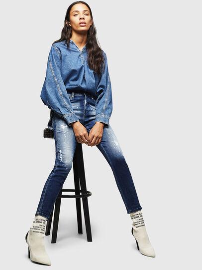 Diesel - Babhila 0091Y, Bleu moyen - Jeans - Image 4