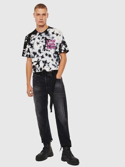 Diesel - T-JUST-J23, Noir/Blanc - T-Shirts - Image 8