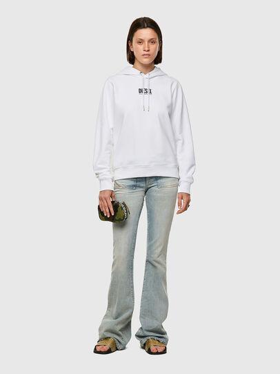 Diesel - F-ANGS-H-ECOSMALLOGO, Noir/Blanc - Pull Cotton - Image 4