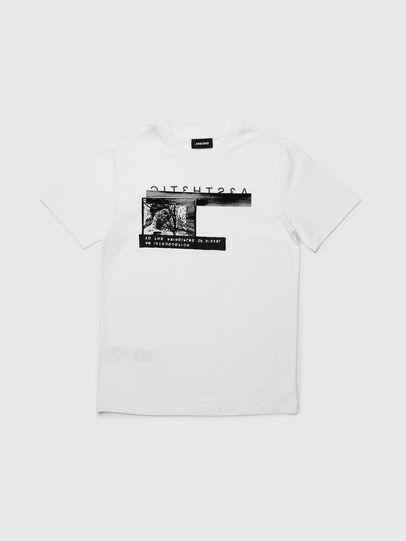 Diesel - TJUSTYP, Blanc - T-shirts et Hauts - Image 1