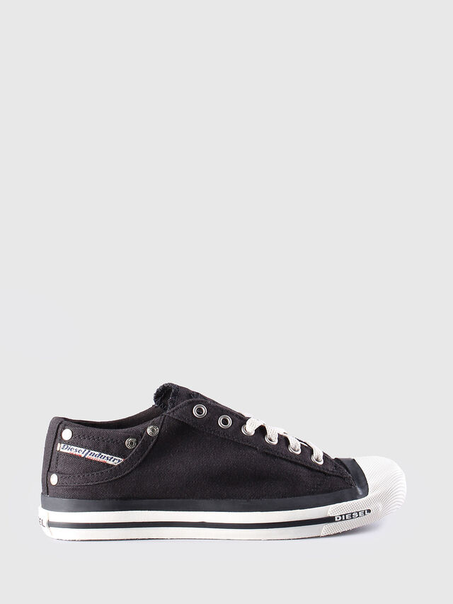 Diesel - EXPOSURE LOW W, Noir - Baskets - Image 1