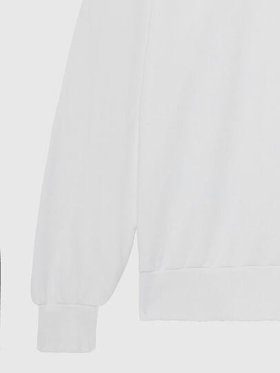 Diesel - S-GIR-HOOD-DIVISION-, Blanc - Pull Cotton - Image 4