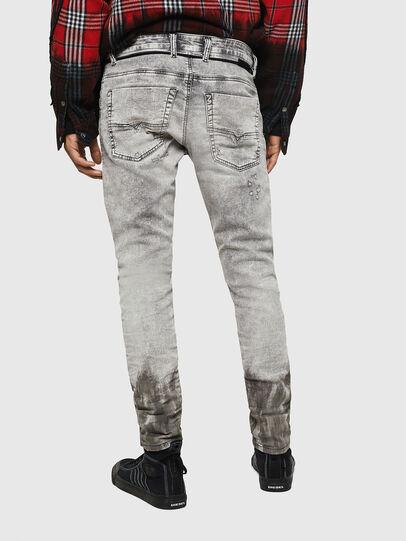 Diesel - Krooley JoggJeans 0091H, Gris Clair - Jeans - Image 2