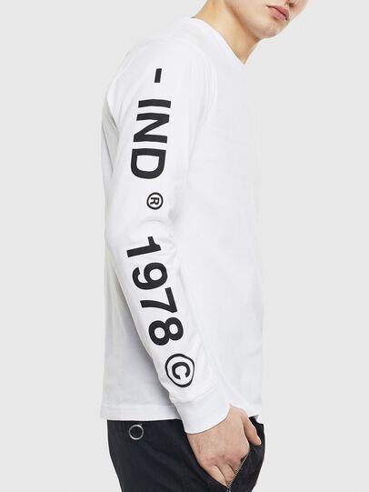 Diesel - T-JUST-LS-T14, Blanc - T-Shirts - Image 3