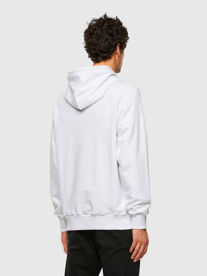 Diesel - S-GIRK-HOOD-X2, Blanc - Pull Cotton - Image 5