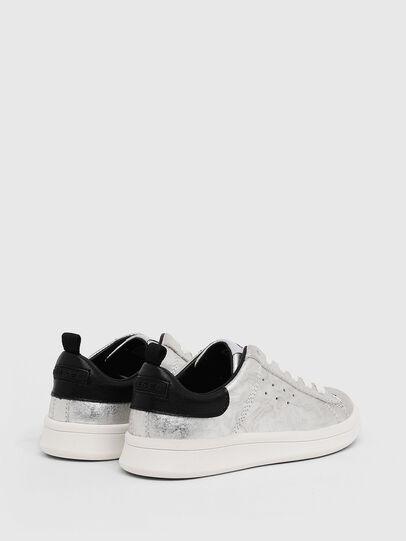 Diesel - SN LOW LACE 11 FULL, Gris argenté/Noir - Footwear - Image 3