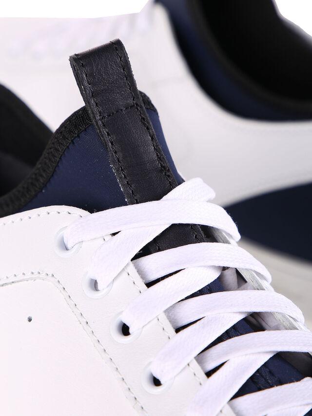 Diesel - S18ZERO, Blanc - Sneaker - Image 7