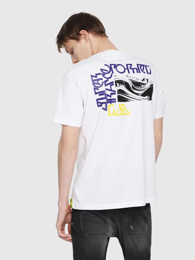 Diesel - T-JUST-Y-TRIMS, Blanc - T-Shirts - Image 2